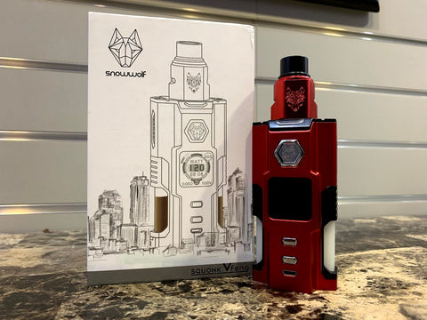 SnowWolf VFENG Dual Squonk *Used* - Trade N Vape - Cheap vape - Snowwolf - usa - in stock - vapor - vaping