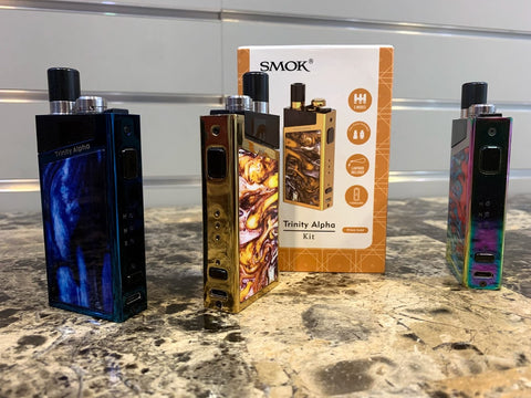 SmokTech Trinity ALPHA Kit w/ New Pod *Used* - Trade N Vape - Cheap vape - smok - usa - in stock - vapor - vaping