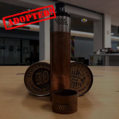 The Copper + The Dripper 30mm Combo Scottua *Used* - Trade N Vape
