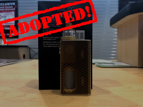 Wismec Luxotic BF Box Mod (Squonk) w/Tobhino BF RDA *Used Kit* - Trade N Vape - Cheap vape - Wismec - usa - in stock - vapor - vaping