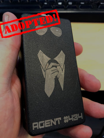 Agent Edition 110w Box Mod by Conspiracy Box Mods *Used* - Trade N Vape - Cheap vape - Conspiracy - usa - in stock - vapor - vaping