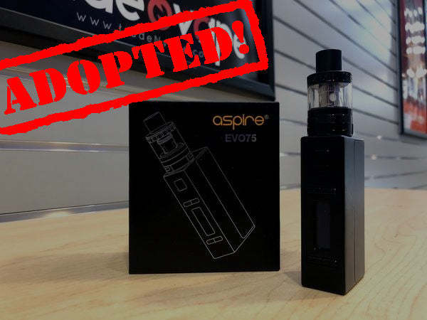 Aspire Evo75 Kit *Used* - Trade N Vape - Cheap vape - Aspire - usa - in stock - vapor - vaping
