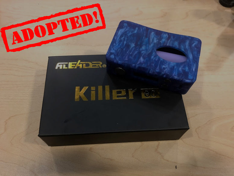 Killer 80 BF Squonk Box Resin *Used* - Trade N Vape - Cheap vape - Aleader - usa - in stock - vapor - vaping