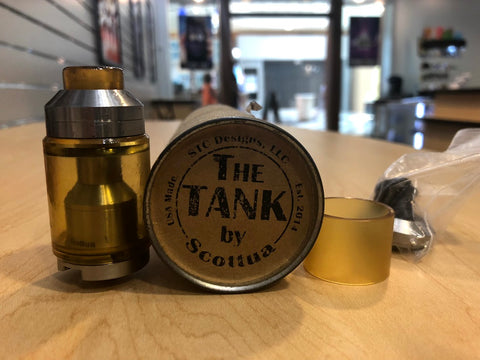 The Tank V1 By Scottua w/Upgrades *Used* - Trade N Vape - Cheap vape - Scottua - usa - in stock - vapor - vaping