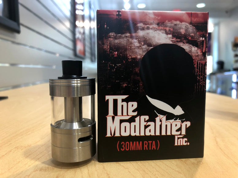 The Modfather Inc 30MM RTA *Used* - Trade N Vape - Cheap vape - The Modfather - usa - in stock - vapor - vaping
