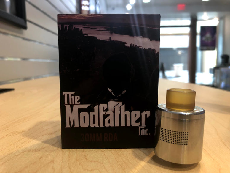 The ModFather Inc 30MM RDA *New* - Trade N Vape - Cheap vape - The Modfather - usa - in stock - vapor - vaping