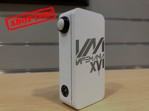 VapeMania 16 HexOhm 3.0 White *used* - Trade N Vape - Cheap vape - Craving Vapor - usa - in stock - vapor - vaping