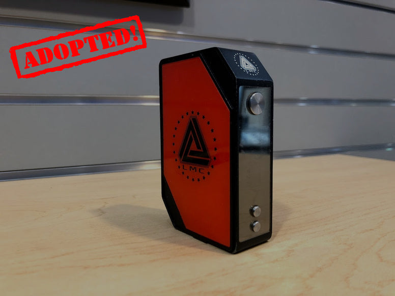 Red Limitless Mod Company 200w TC *Used* - Trade N Vape - Cheap vape - Limitless - usa - in stock - vapor - vaping