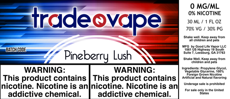 Pineberry Lush - Trade N Vape - Cheap vape - Trade N Vape - usa - in stock - vapor - vaping