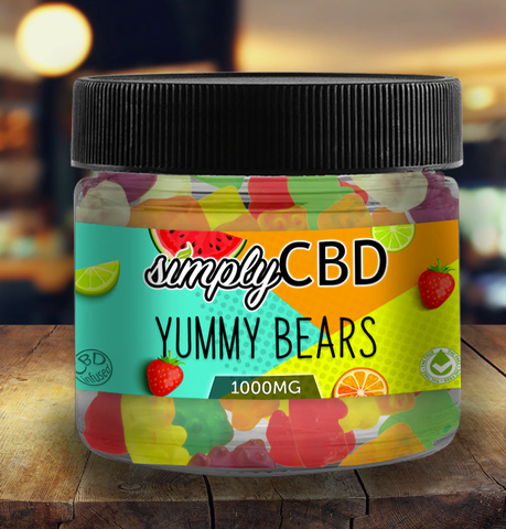 Yummy Bears - Simply CBD