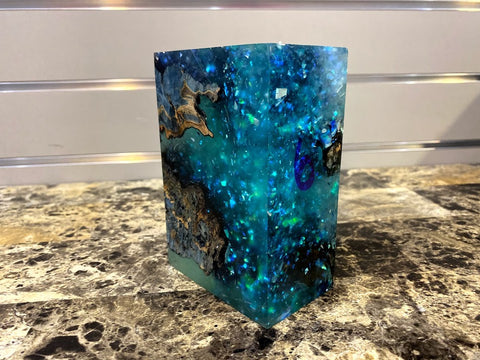 Freeze Edition Stabwood Burlwood Hybrid Block #6