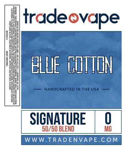Blue Cotton - Trade N Vape