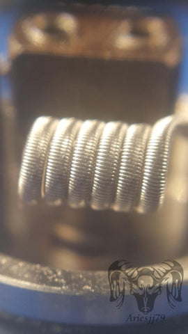 Fused Clapton Coils - Trade N Vape - Cheap vape - AriesJJ - usa - in stock - vapor - vaping