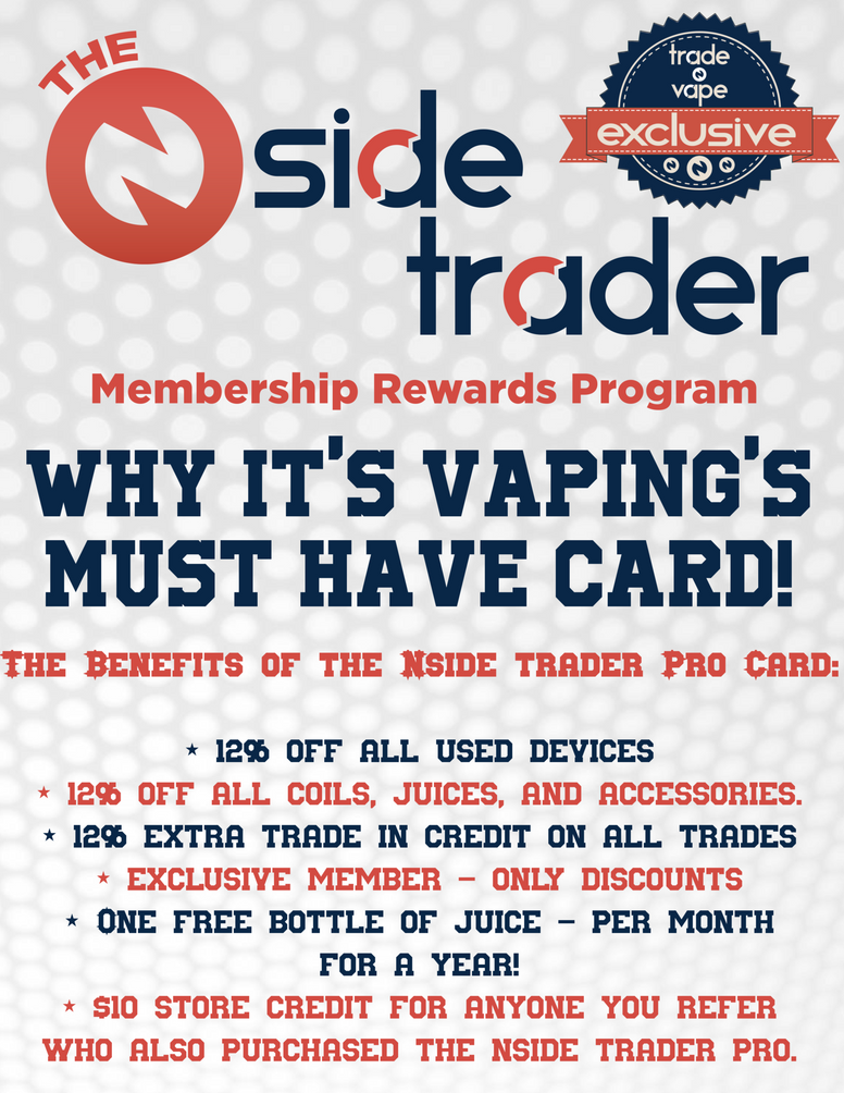 Nside Trader Pro - Trade N Vape - Cheap vape - Trade N Vape - usa - in stock - vapor - vaping