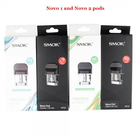 Smok NOVO and NOVO 2 Pods