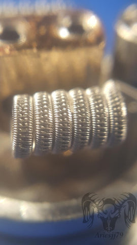 Staggered Fused Clapton Coils - Trade N Vape - Cheap vape - AriesJJ - usa - in stock - vapor - vaping