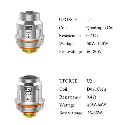 VooPoo Coils Assorted - Trade N Vape - Cheap vape - VooPoo - usa - in stock - vapor - vaping