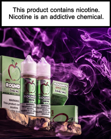Apple Kiwi Rounds *New Packaging* - Trade N Vape - Cheap vape - Rounds - usa - in stock - vapor - vaping