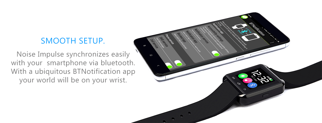 impluse smartwatch for Android