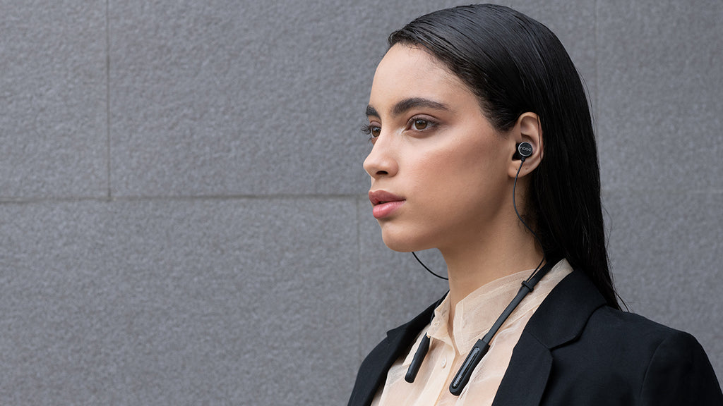 Tune ELITE Bluetooth Earphones during work
