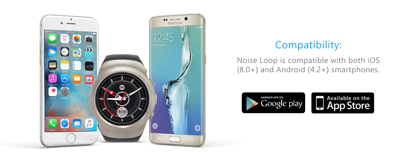loop smartwatch with android & IOS