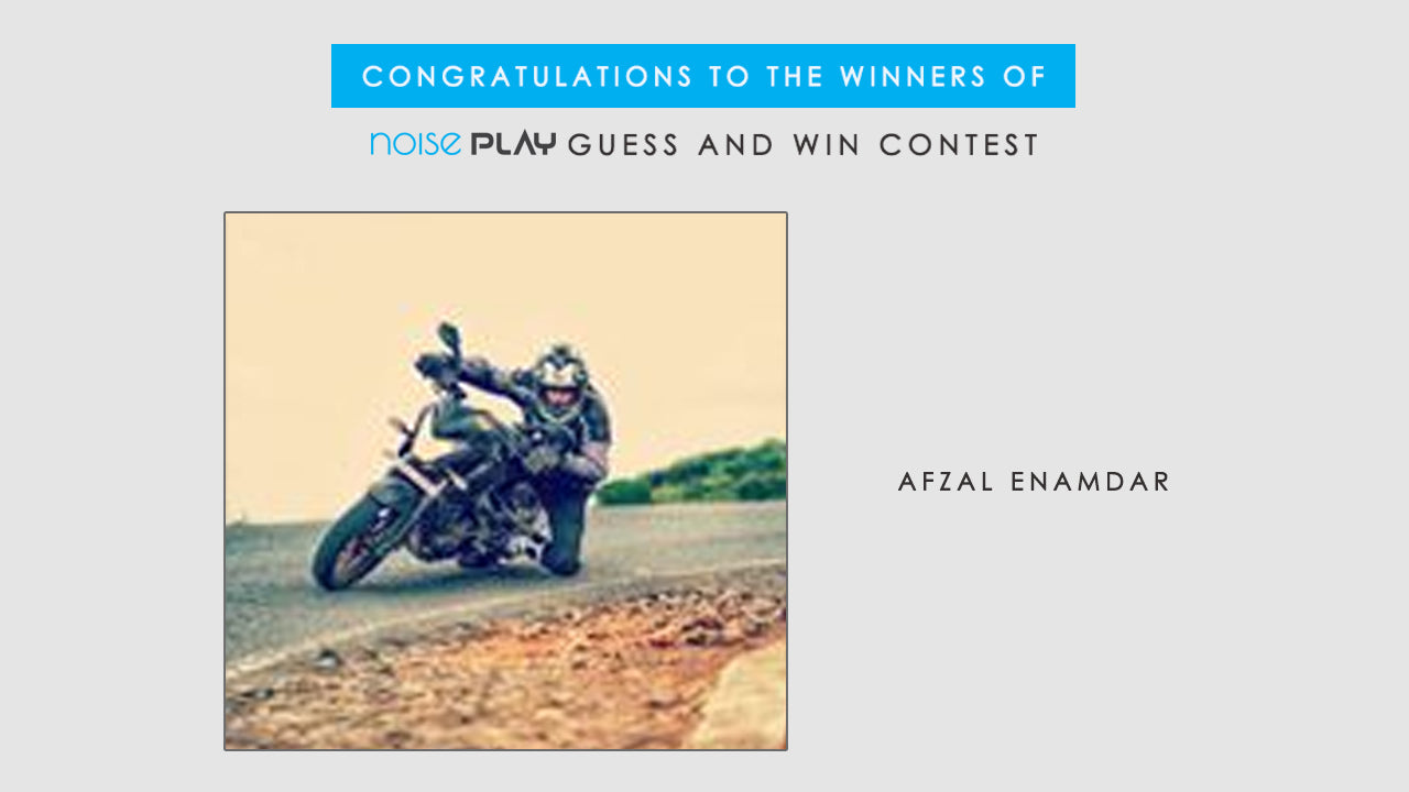 Congratulations to All the Winners of Noise Play Guess &