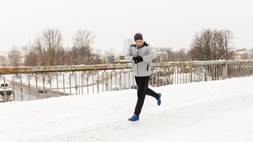 Winter workouts with Smartwatch