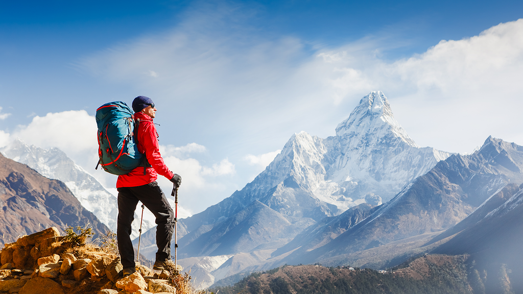 Mountain Trekking with Smartwearables