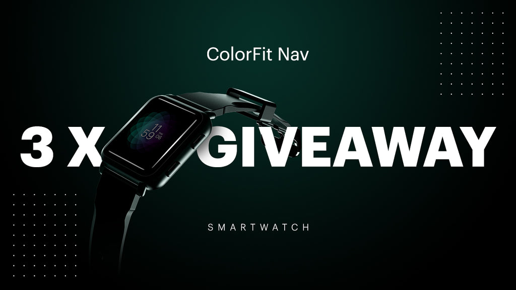 Smartwatch Give away Contest