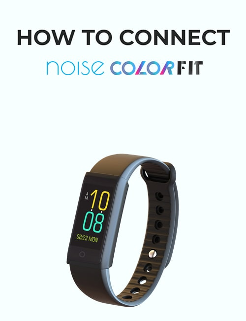 noise colorfit fitness band thumbnail for how to connect video mobile