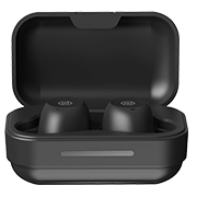 Noise Shots NUVO Truly Wireless Earbuds with Charging Case - Stealth Black