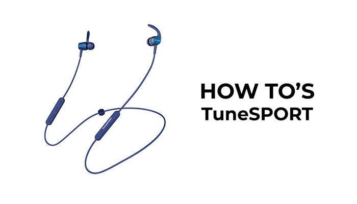 noise Tune wireless earphones video