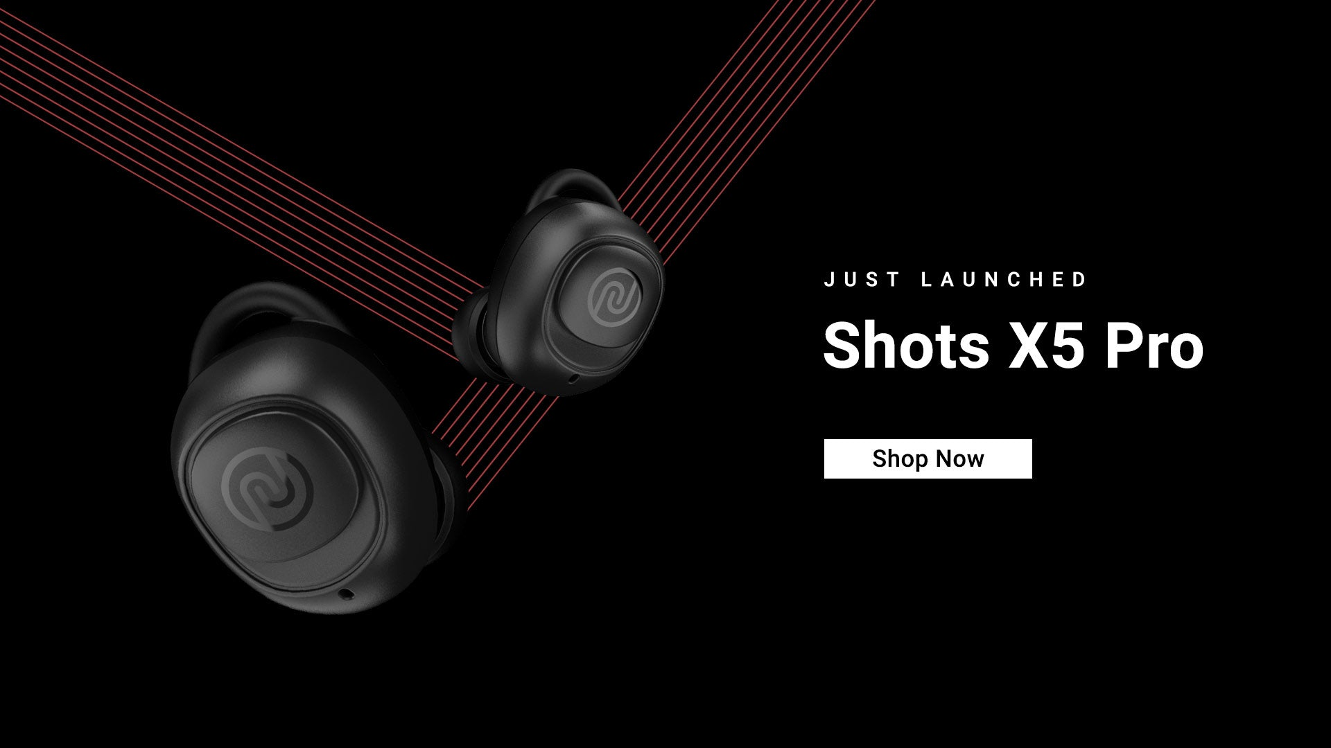 Shots X5 Pro Truly Wireless Earbuds