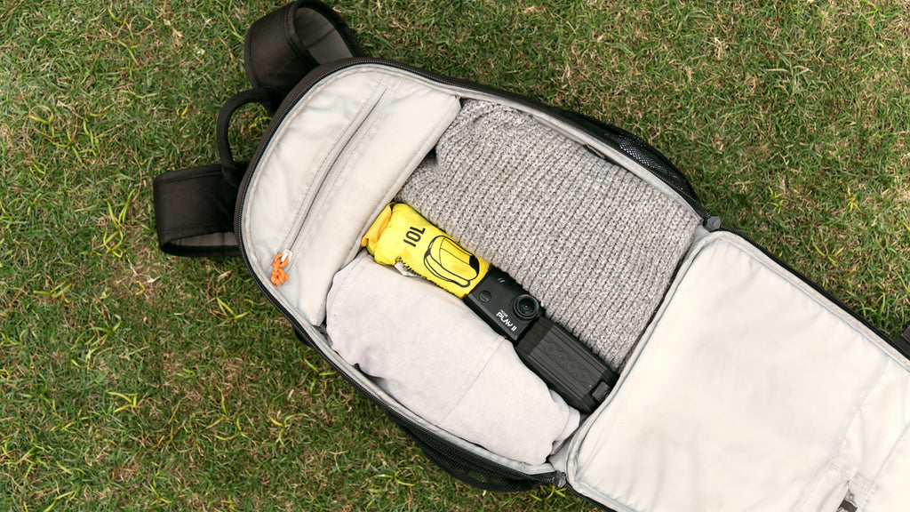 The lightest bag with the necessary Play 2 action camera