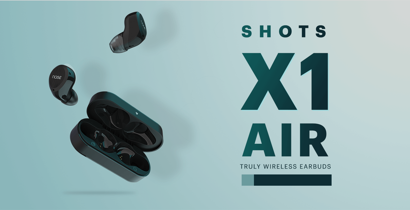 Noise Shots X1 Air Truly Wireless Earbuds