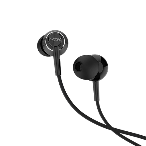 Noise YR1 Wired Earphone with Mic - Glossy Black