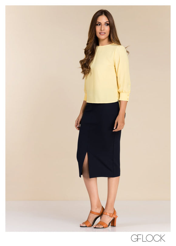 GFLOCK - [product_sku] - Women_Top - Puff Sleeve Top