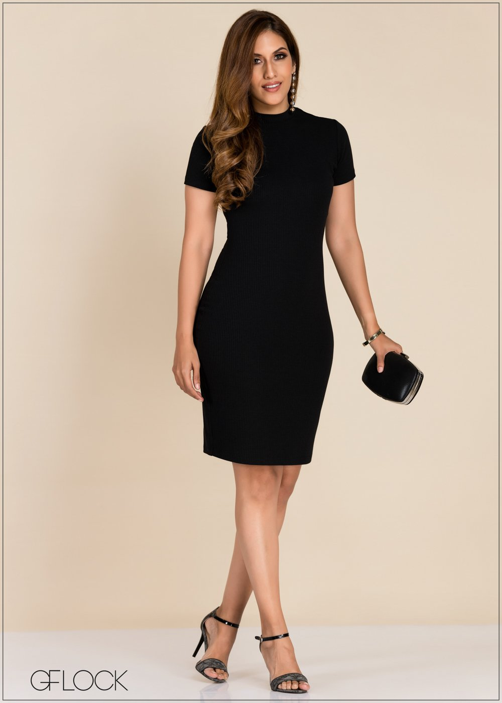 GFLOCK - [product_sku] - Women_Dresses - Rib Bodycon Dress