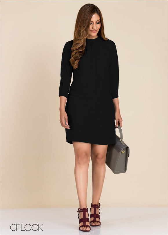 GFLOCK - [product_sku] - Women_Dresses - Solid Workwear Dress