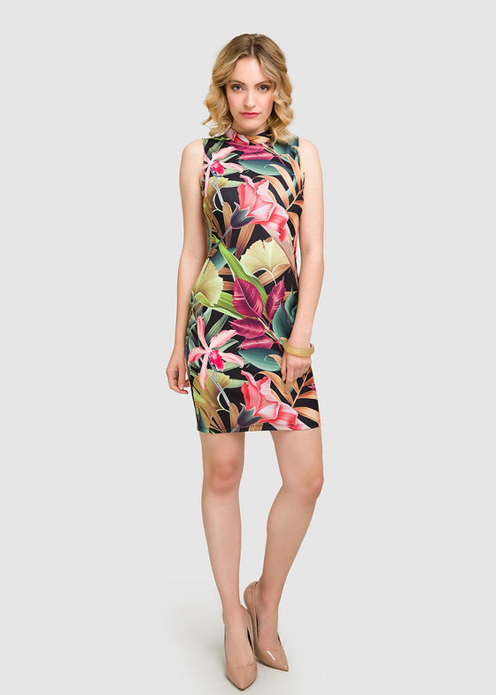 GFLOCK - [product_sku] - Women_Dresses - Jungle Print Bodycon Dress