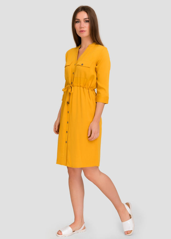 GFLOCK - [product_sku] - Women_Dresses - Double Pocket Shirt Dress
