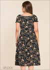 GFLOCK - [product_sku] - Women_Dresses - Printed Square Neck Dress