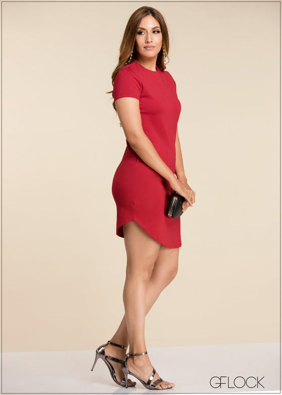 GFLOCK - [product_sku] - Women_Dresses - Short Sleeve Bodycon Dress