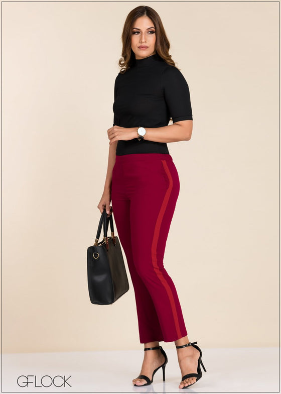 GFLOCK - [product_sku] - Women_Trousers - Pant With Side Detail