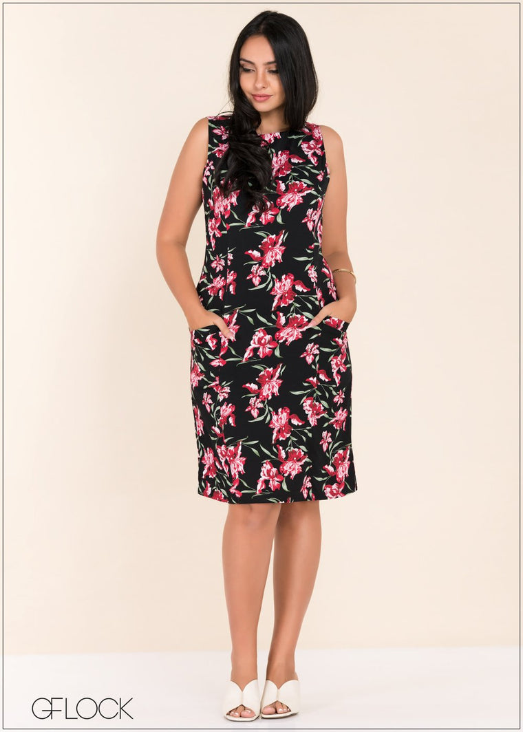 GFLOCK - [product_sku] - Women_Dresses - Sleeveless Printed Dress