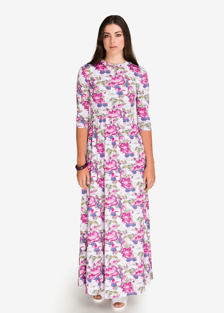 GFLOCK - [product_sku] - Women_Dresses - Floral Maxi Dress