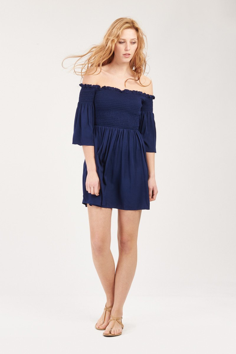 GFLOCK - [product_sku] - Women_Dresses - Off shoulder smock dress