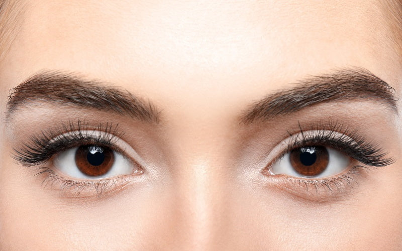 Castor oil for thicker eyebrows and eyelashes