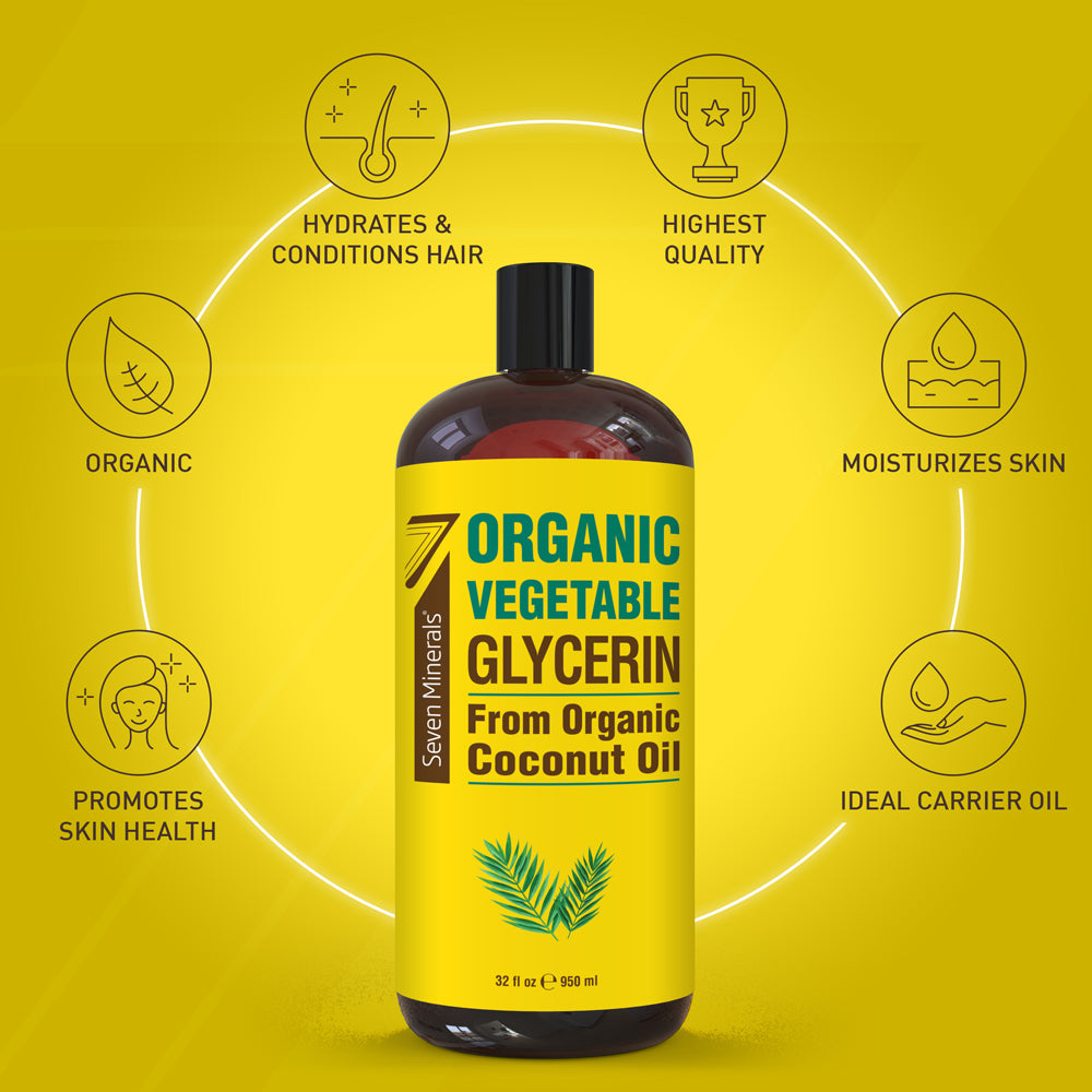 Organic Vegetable Glycerine (Shipping Within USA only)