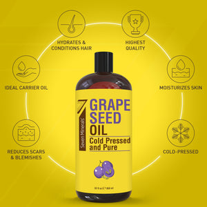 Pure Grapeseed Oil 32oz